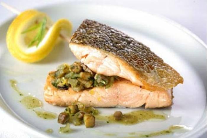 Salm n con champi ones tu espacio de bienestar - Salmon con champinones ...